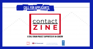 contactZINE: a project by youth for youth – CALL FOR APPLICANTS